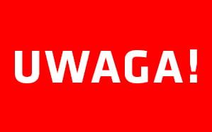 Suchy Las – UWAGA!