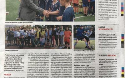 Gazeta Wyborcza o sobotnim turnieju RED BOX Cup Junior :)