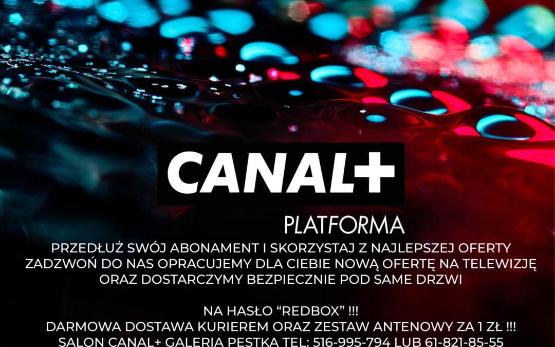 Promocja wspólnie z Canal+