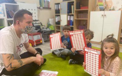 Trening w przedszkolu